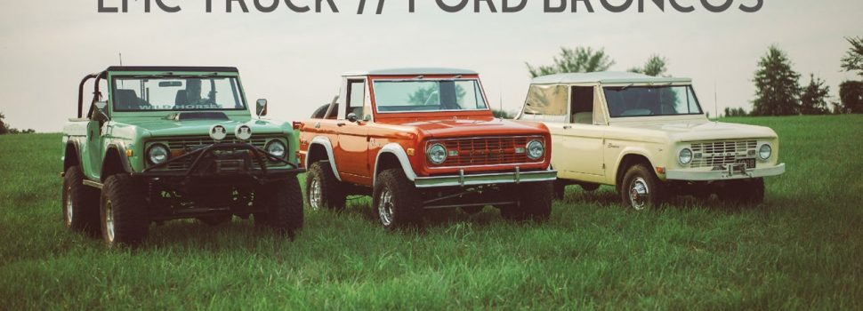 Deze Ford Bronco's Heersen Harder Dan Hard