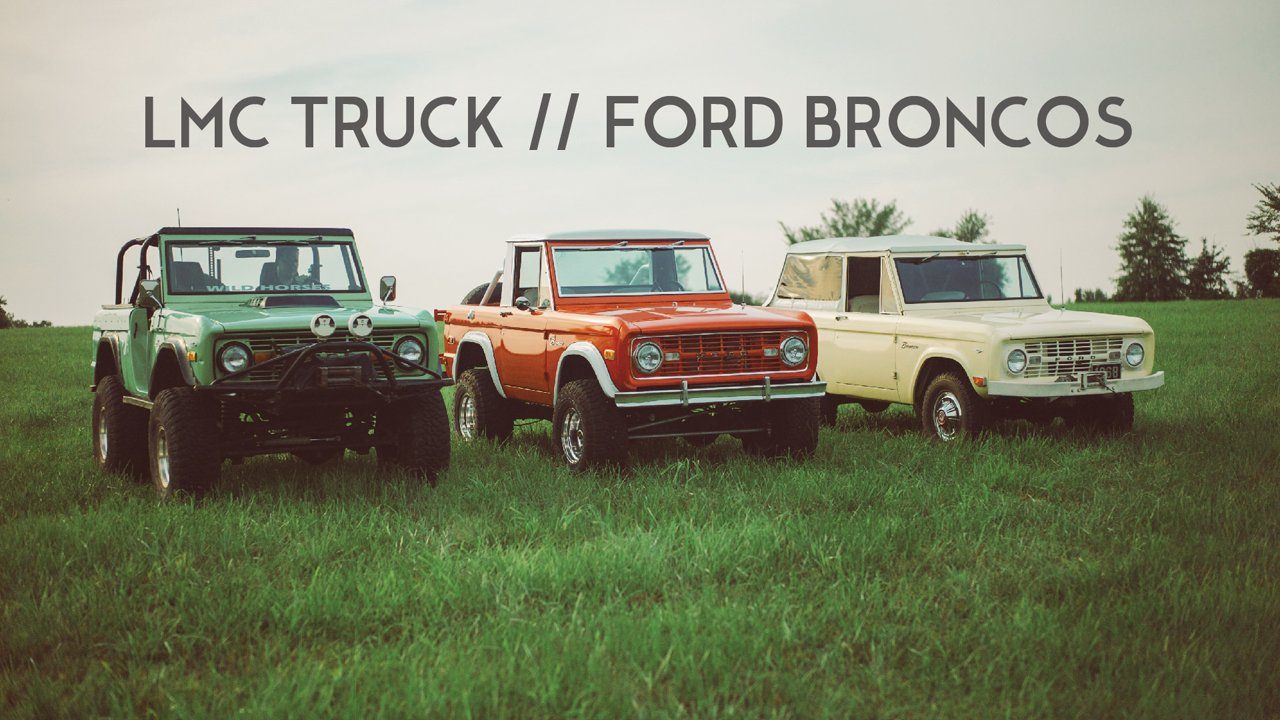 Deze Ford Bronco's Heersen Harder Dan Hard
