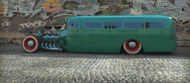KAvZ 651 Schoolbus Hot Rod