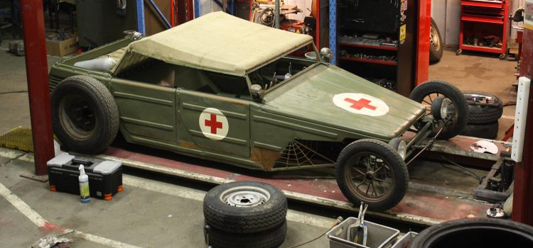 Volkswagen Type 181 Rat Rod