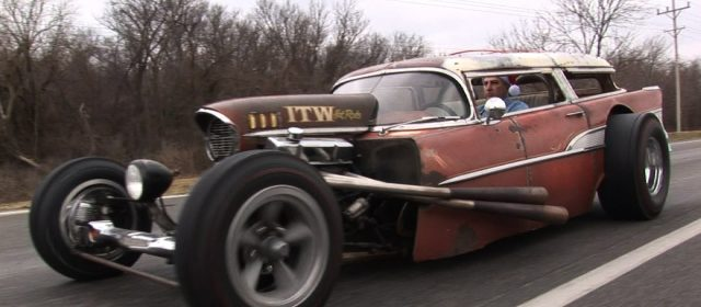1957 Chevy Wagon Rat Rod