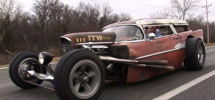 1957 Chevy Wagon Rat Rod