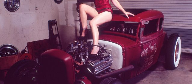 Hot Rod Pin-Ups