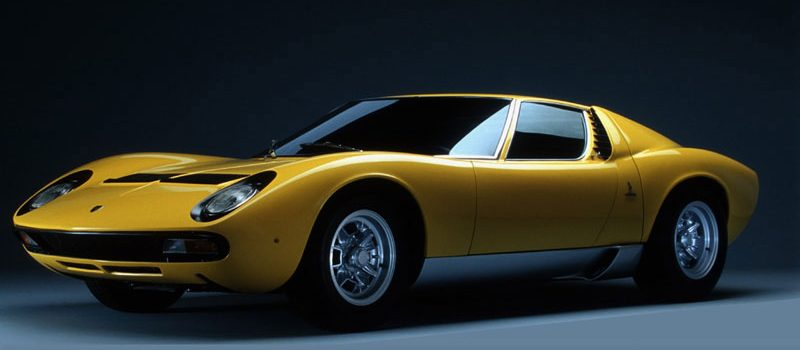 Lamborghini Miura, altijd binnen gestaan
