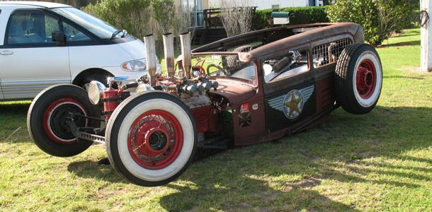 Ford Model A Tudor Rat Rod