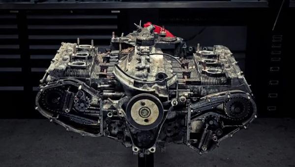 Porsche Carrera 3.2 Teardown