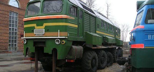 Russische Landtrein