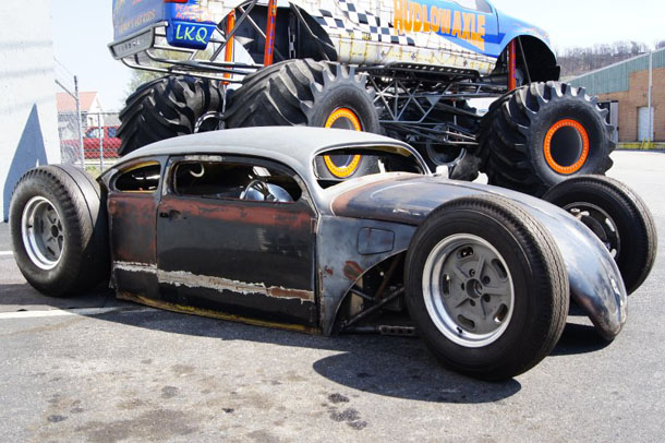 VW Bug Rat Rod GSXR 1000